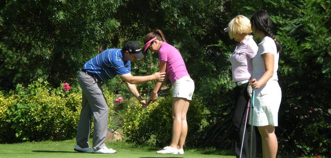 Cours de golf sur Newtee